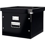 LEITZ® archief- en transportbox voor hangmappensysteem serie Click + Store, zwart