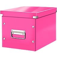 LEITZ® archiefbox Click + Store, voor ovale/hoge voorwerpen 260 x 240 x 260 mm, roze