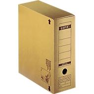 LEITZ archiefdoos met sluitklep 6086, 10 stuks