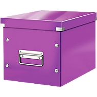 LEITZ® Aufbewahrungsbox Click + Store, für ovale/höhere Gegenstände 260 x 240 x 260 mm, violett