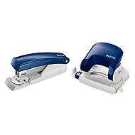 LEITZ® Bürolocher 5038 + Heftgerät 5501 SET, blau