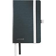 LEITZ® Carnet de note Style 4493, quadrillé, A6, noir satin