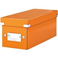 LEITZ® CD Ablagebox Serie Click + Store, orange