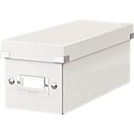 LEITZ® CD Ablagebox Serie Click + Store, weiß