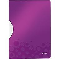 LEITZ® clip map ColorClip WOW, DIN A4, PP, met clip, paars, met clip, violet