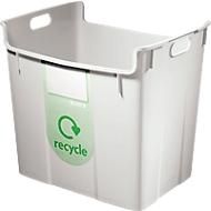 LEITZ® collecteur pour recyclage de déchets, 40 litres, gris