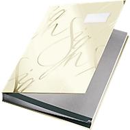 LEITZ® Design-Unterschriftenmappe 5745, 18 Fächer, Karton, weiß