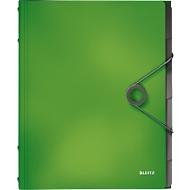 LEITZ® Dokumentenmappe Solid, DIN A4, 3 Schutzkappen, 6 Fächer, PP, hellgrün