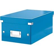 LEITZ® DVD Ablagebox Click + Store, blau