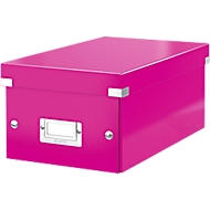 LEITZ® DVD Ablagebox Click + Store, pink