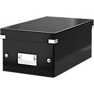 LEITZ® dvd-opbergbox Click + Store, zwart