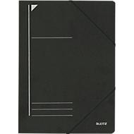 LEITZ® Eckspannmappe, DIN A4, Gummizugverschluss, schwarz