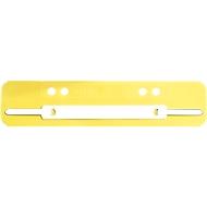 LEITZ® Heftstreifen, Polypropylen, DIN A5, 25 Stück, gelb