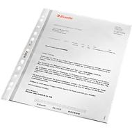 LEITZ® insteekhoesjes 4796, A4, bovenaan open, 100 stuks, generfd, transparant