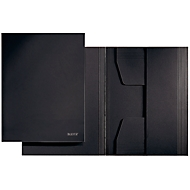 LEITZ® Jurismappe, DIN A4, Karton, schwarz