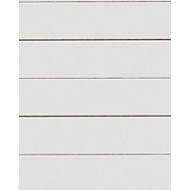 LEITZ® Kartonnen tabbladen met gekleurde tabs, te snijden, A4, geel, pak van 25 sets