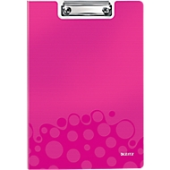 LEITZ® klemmap Active Wow, A4, PP, met klembeugel, roze