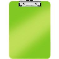 LEITZ® Klemmbrett WOW 3971, DIN A4, Polystyrol, mit Aufhängeöse, grün