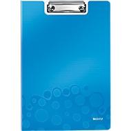 LEITZ® Klemmmappe Active Wow, DIN A4, PP, mit Klemmbügel, blau