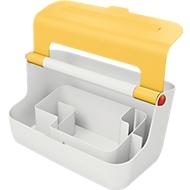 Leitz® mobile Aufbewahrungsbox Cosy, Tragegriff & Deckel, bis A4, gelb