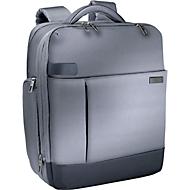 LEITZ® Notebook-Rucksack Smart Traveller, f. 15,6 Zoll Laptops, silbergrau