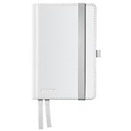 LEITZ notitieboekje Style 4489, hardcover, A6, gelinieerd, arctic wit