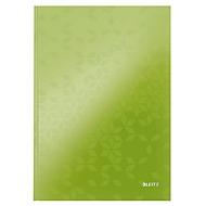 LEITZ notitieboekje WOW 4625, A4, gelinieerd, groen