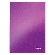 LEITZ notitieboekje WOW 4628, A5, geruit, paars
