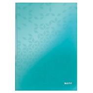 LEITZ Notizbuch WOW 4626, DIN A4, kariert, eisblau