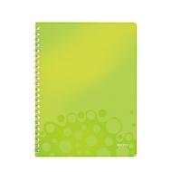 LEITZ Notizbuch WOW 4637, DIN A4, liniert, grün