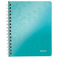 LEITZ Notizbuch WOW 4639, DIN A5, liniert, eisblau