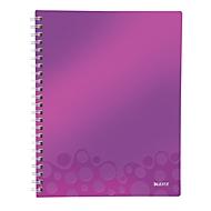 LEITZ Notizbuch WOW Get Organised 4642, DIN A4, liniert, violett