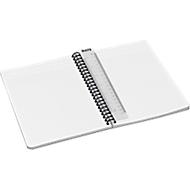 LEITZ® Office Collegeblock 445800 DIN A5, laminierter Einband, kariert, gelb