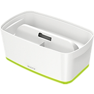 Leitz opbergbak MyBox, A5, voor materiaal, wit/groen