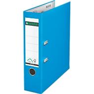 LEITZ® Ordner 1010, DIN A4, Rückenbreite 80 mm, hellblau