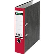 LEITZ® ordner 1050, A4, rugbreedte 52 mm, 20 stuks, rood