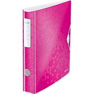 LEITZ® ordner Active WOW, A4, rugbreedte 65 mm, 5 stuks, roze
