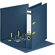 LEITZ® ordner recycle, A4, 100% recycleerbaar, rugbreedte 50 mm, donkerblauw, 10 stuks