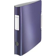 LEITZ® Ordner Style, DIN A4, Rückenbreite 65 mm, titan blau