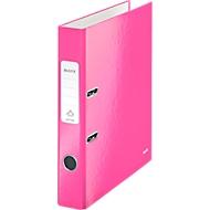 LEITZ® Ordner WOW 1006, DIN A4, Rückenbreite 50 mm, pink