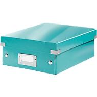LEITZ® Organisationsbox Click + Store, klein, eisblau