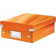 LEITZ® Organisationsbox Click + Store, klein, orange
