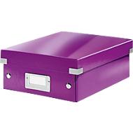 LEITZ® Organisationsbox Click + Store, klein, violett