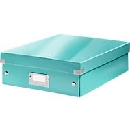 LEITZ® Organisationsbox Click + Store, mittel, eisblau