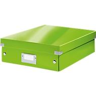 LEITZ® Organisationsbox Click + Store, mittel, grün