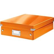 LEITZ® Organisationsbox Click + Store, mittel, orange