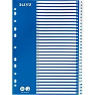 LEITZ® PP-indexbladen met blauw dekblad, cijfers 1-31