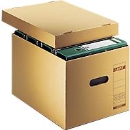 LEITZ® Premium archief- en transportdozen 6081 LEITZ®, B 335 x D 440 x H 275  mm, 10 stuks