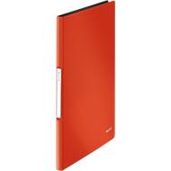 LEITZ presentatiemap Solid, voor A4-formaat, 20 hoesjes, lichtrood