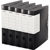 LEITZ® Qualitätsordner SOLID, DIN A4, Rückenbreite 62 mm, 5 Stück, schwarz